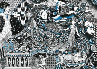 illustration de la mythologie grecque