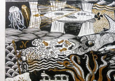 illustration Jules Verne 200000 lieues sous les mers
