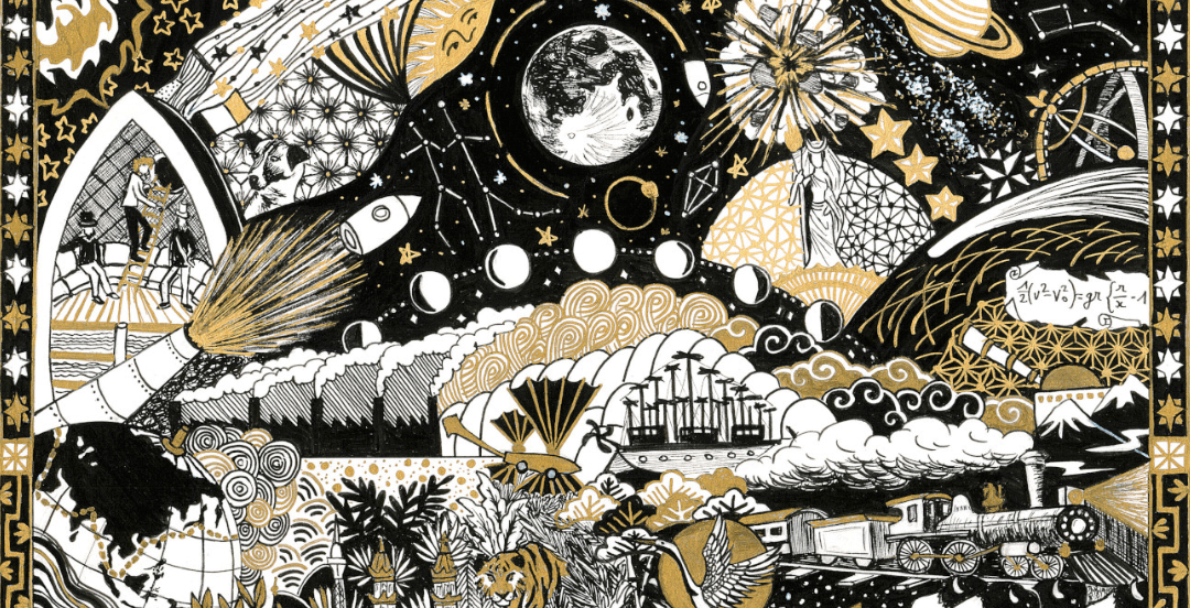 Une illustration des romans de Jules Verne (2/3)
