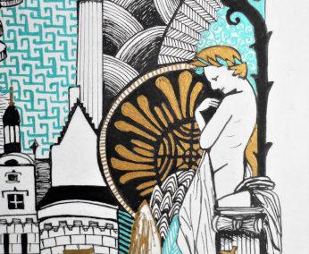 statue du passage pommeraye symboles nantais