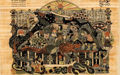une illustration de la mythologie égyptienne