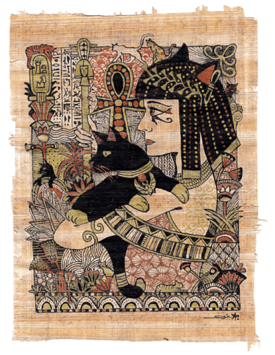 illustration Bastet mythologie égyptienne