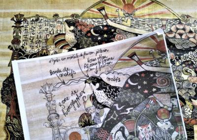 illustration mythologie égyptienne