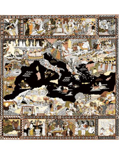 affiches à vendre affiche illustration Odyssée impression d'art Gaëlle Compozia
