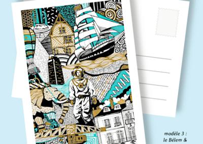 cartes postales nantes gaelle compozia
